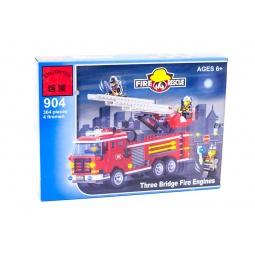 фото Конструктор игровой Brick «Пожарная команда» 904