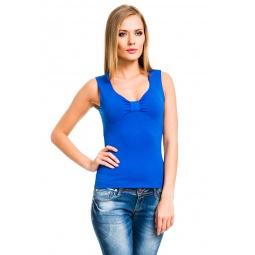 фото Майка Mondigo 387. Цвет: синий. Размер одежды: 44