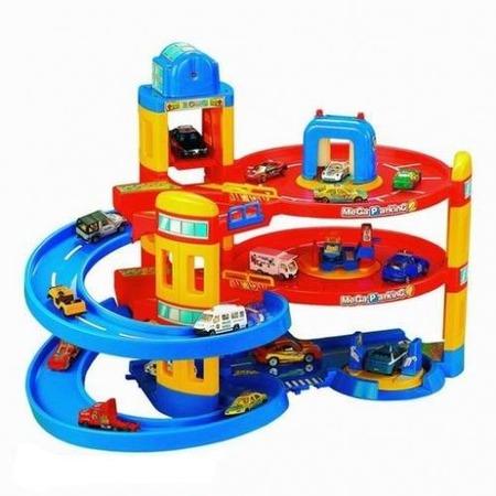 Купить Набор игровой для мальчика Нордпласт «Мега паркинг»