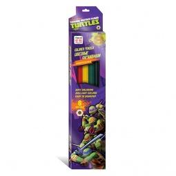 Купить Карандаши цветные шестригранные Nickelodeon «Черепашки-Ниндзя»