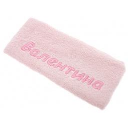фото Полотенце подарочное с вышивкой TAC Валентина. Цвет: розовый