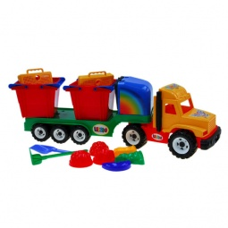 фото Машинка игрушечная Karolina Toys «Профи. Контейнеровоз»