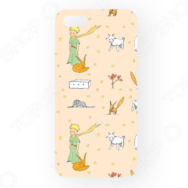 Чехол для iPhone 5 Mitya Veselkov «Принт Экзюпери» mitya veselkov тюльпановый принт чехол для apple iphone 5 5s