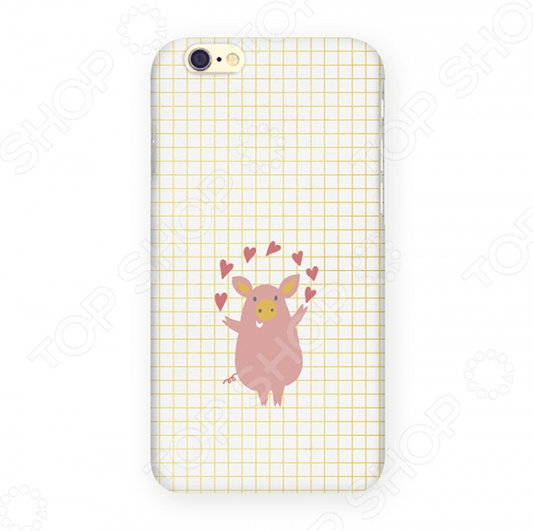 Чехол для iPhone 6 Mitya Veselkov «Поросенок и сердечки» ванден хейде с храбрый дикий поросенок