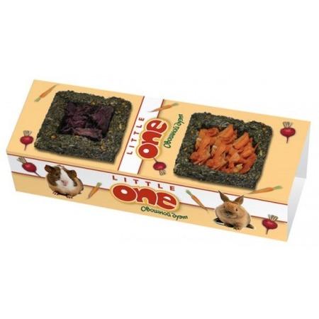 Купить Лакомство для грызунов Little One «Овощной дуэт»