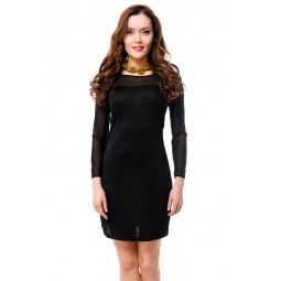 фото Платье Mondigo 8615. Цвет: черный. Размер одежды: 46