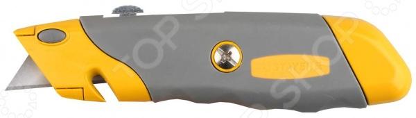 Нож строительный Stayer Profi 09233 нож строительный irwin с фиксированным лезвием