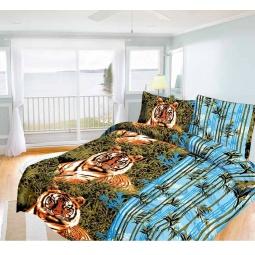 фото Комплект постельного белья Олеся «Бенгальский тигр». 1,5-спальный