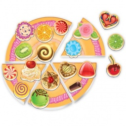фото Игра развивающая на магнитах Roter Kofer «Юный повар. Торт»