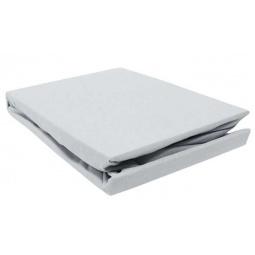 фото Простыня на резинке трикотажная ЭГО. Цвет: серый. Размер простыни: 200х200 см