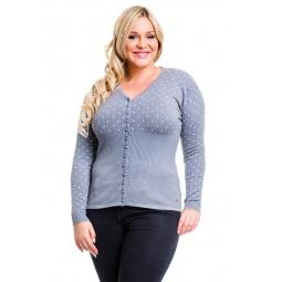 фото Жакет Mondigo XL 9410. Цвет: серый. Размер одежды: 50