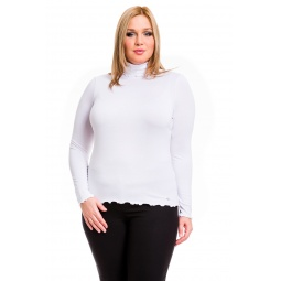 фото Водолазка Mondigo XL 1474. Цвет: белый. Размер одежды: 48