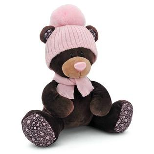Купить Мягкая игрушка Orange сидячая в шапке Milk «Медведь»