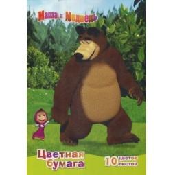 фото Набор бумаги Росмэн «Маша и Медведь» 2