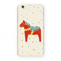 фото Чехол для iPhone 6 Mitya Veselkov «Скандинавская лошадка»