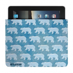 Купить Чехол для iPad Mitya Veselkov «Северные мишки»