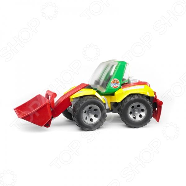 Машинка игрушечная Bruder «Погрузчик с ковшом и разрыхлителем» ROADMAX машины bruder погрузчик roadmax с ковшом и разрыхлителем