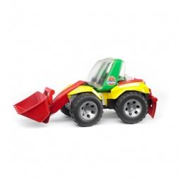 фото Машинка игрушечная Bruder «Погрузчик с ковшом и разрыхлителем» ROADMAX