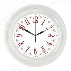 Часы настенные Вега П 6-7-21 «Классика. Арабские с узором» часы настенные вега п 1 6 6 7