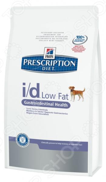 Корм сухой диетический для собак Hill's I/D Prescription Diet Canine Low Fat