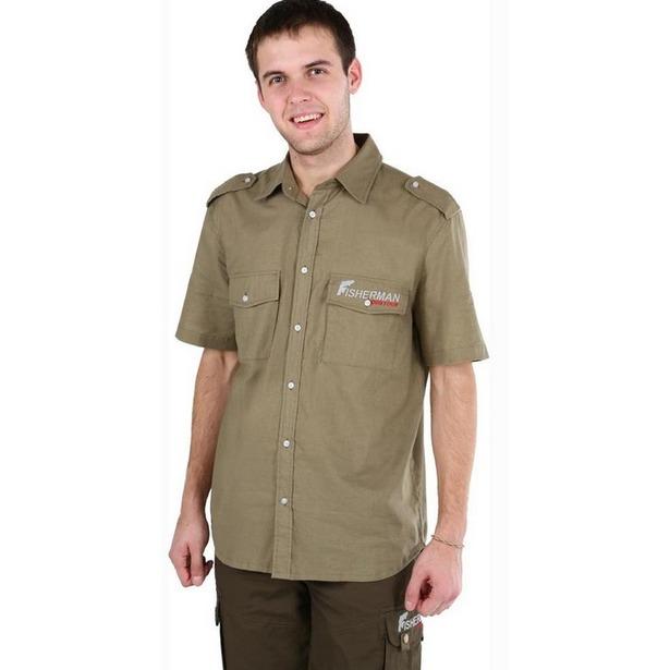 фото Рубашка для рыбалки с коротким рукавом NOVA TOUR «Сафари v.2». Размер одежды: XS