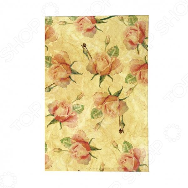 Обложка для паспорта Mitya Veselkov «Чайные розы»