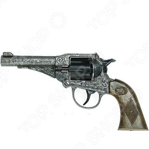 Пистолет детский Edison «Стерлинг» игрушечное оружие edison игрушечный пистолет стерлинг золотой 17 5 см