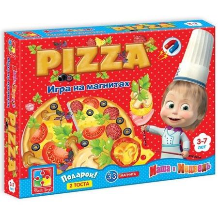 Купить Игра развивающая на магнитах Vladi Toys «Юный повар. Пицца» VT3003-02