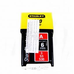 "фото Скоба для степлера STANLEY тип ""А"" (5/53/530). Размер: 6 мм"