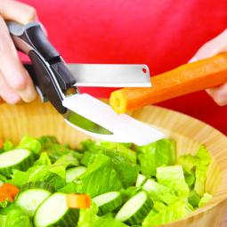 Купить Умный нож для резки продуктов 2 в 1