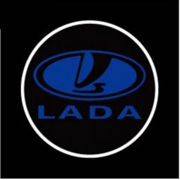 фото Светодиодные проекторы логотипа автомобиля Auto Crystal LADA