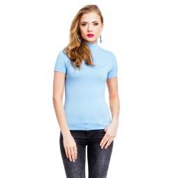 фото Водолазка Mondigo 037. Цвет: голубой. Размер одежды: 42