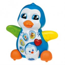 Купить Игрушка развивающая Clementoni «Мамочка и малыш-пингвиненок»