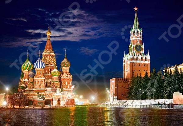 Пазл 1000 элементов Castorland «Красная площадь, Москва»