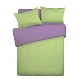 фото Комплект постельного белья Wenge Uno «КБВу-11». Цвет: салатовый, сиреневый
