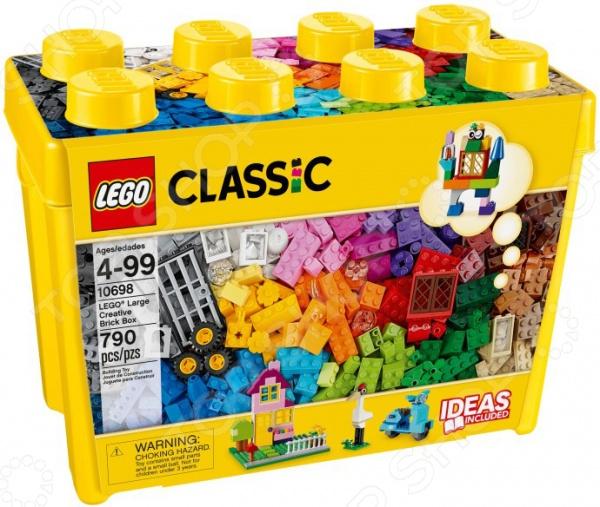 Конструктор LEGO 10698Конструкторы LEGO<br>Конструктор Lego 10698 - интересная и увлекательная игрушка, которая откроет вашему ребенку совершенно новый мир приключений и необычных историй, автором которых сможет стать он сам. Яркие и качественные элементы конструктора выполнены из прочного и безопасного пластика, легко складываются и компонуются. Ребенок с увлечением будет собирать конструктор и придумывать новые сюжеты для игр. Кроме того, собрать конструктор вашему малышу могут помочь его друзья - деталей хватит на всех. Подобное времяпрепровождение превратить развивающие занятия в увлекательную игру, разовьет в детях чувство товарищества внимательность и ответственность. Подарите своему ребенку массу положительных эмоций и отличное настроение!<br>