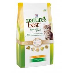 фото Корм сухой для котят Hill's Nature's Best Kitten с курицей и овощами. Вес упаковки: 2 кг