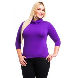 фото Водолазка Mondigo XL 211. Цвет: фиолетовый. Размер одежды: 52