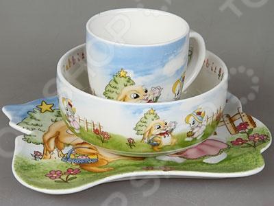 Набор посуды для детей Rosenberg 8786