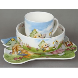 фото Набор посуды для детей Rosenberg 8786