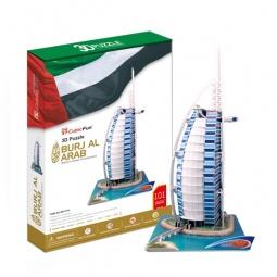 Купить Пазл 3D CubicFun «Отель Бурж эль Араб»