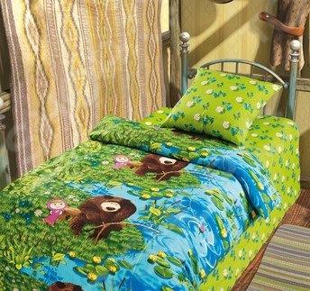 Детский комплект постельного белья Непоседа «На рыбалке» детский комплект постельного белья непоседа на рыбалке