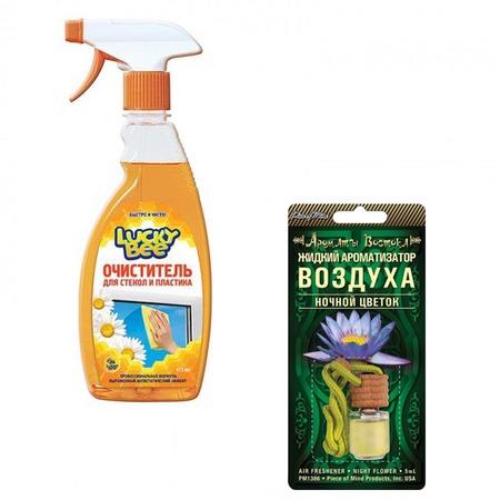 Купить Набор для уборки Lucky Bee очиститель для поверхностей LB 7505 и ароматизатор PM 1386