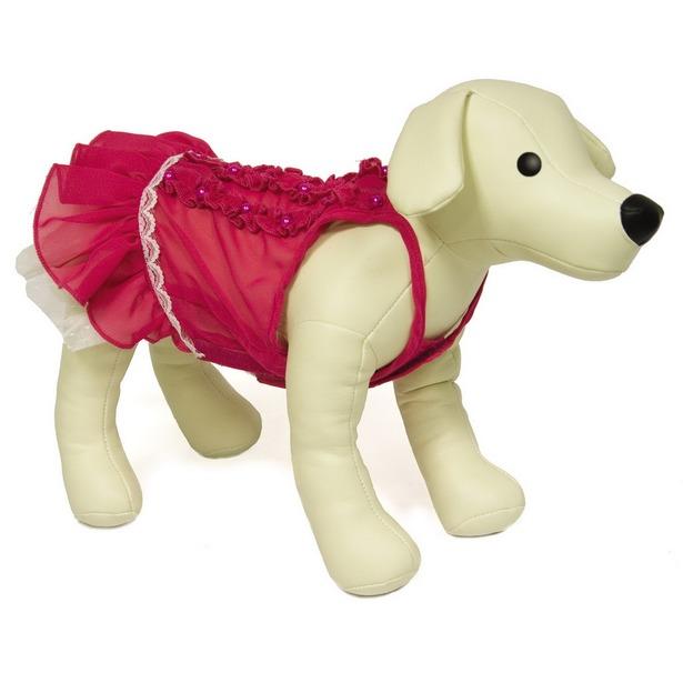 фото Платье для собак DEZZIE «Эмми». Размер: 30 см