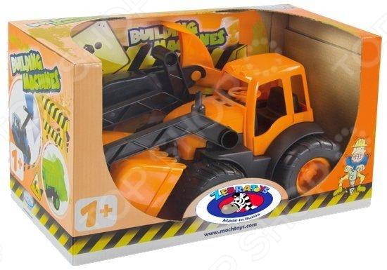 Экскаватор игрушечный Zebratoys 15-10177