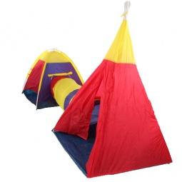 фото Палатка игровая с туннелем IPlay «Приключение»