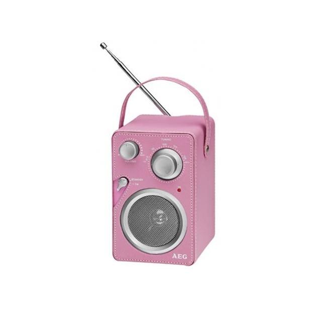 фото Радиоприемник AEG MR 4144. Цвет: розовый