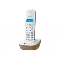 фото Радиотелефон Panasonic KX-TG1611. Цвет: белый, бежевый