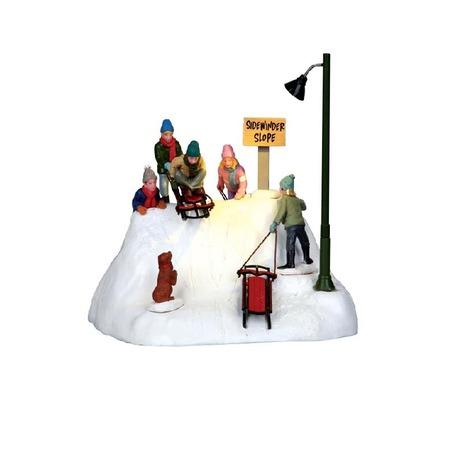 Купить Настольная композиция анимированная Lemax «Дети на санках»