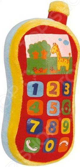 Мягкая игрушка со звуковыми эффектами Simba «Плюшевый телефон» мягкая игрушка simba грибок 4015441